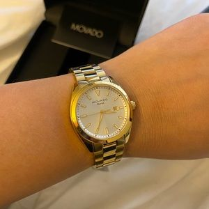 Movado womens Heritage series watch